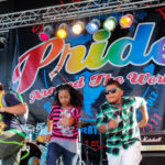 Colorful Kids on Stage and SD Pride