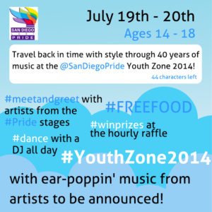 Youth Zone Flyer