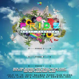 Pride Music Festival Phase 1