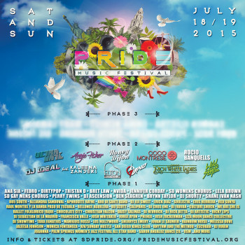 Phase 2 Artist Lineup