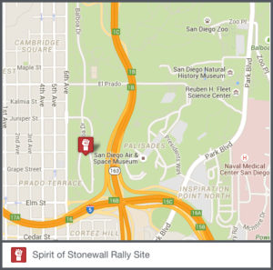 Stonewall Rally Map