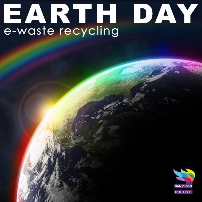Earthg Day e waste square