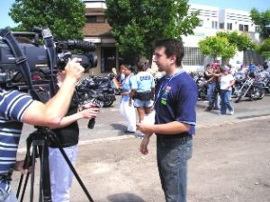 Frank Sabatini Jr in Fox Interview for San Diego LGBT Pride