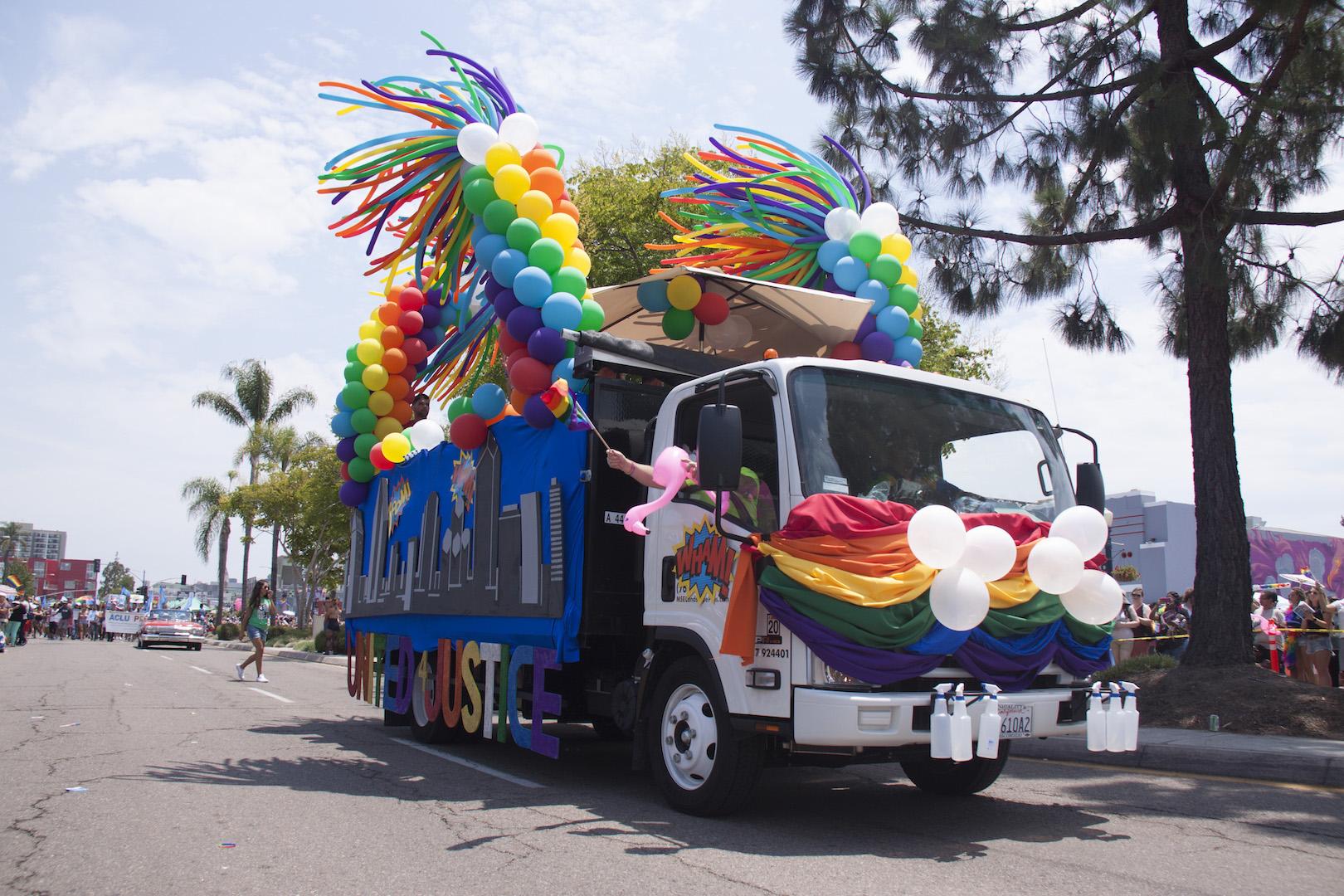 2017 S Best Pride Parade Floats San Diego Lgbt Pride