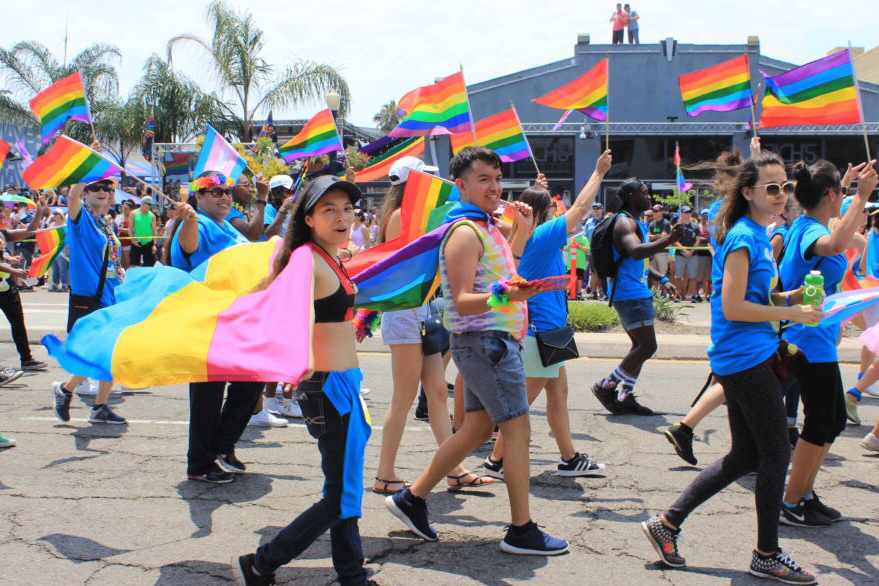 san diego pride parade san diego lgbt pride