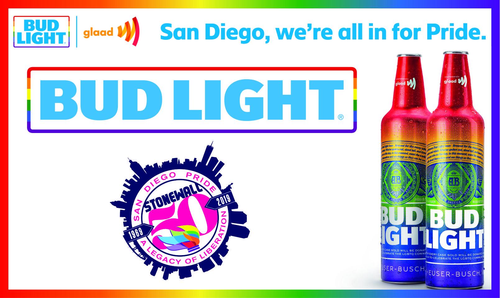 bud light pride bottle