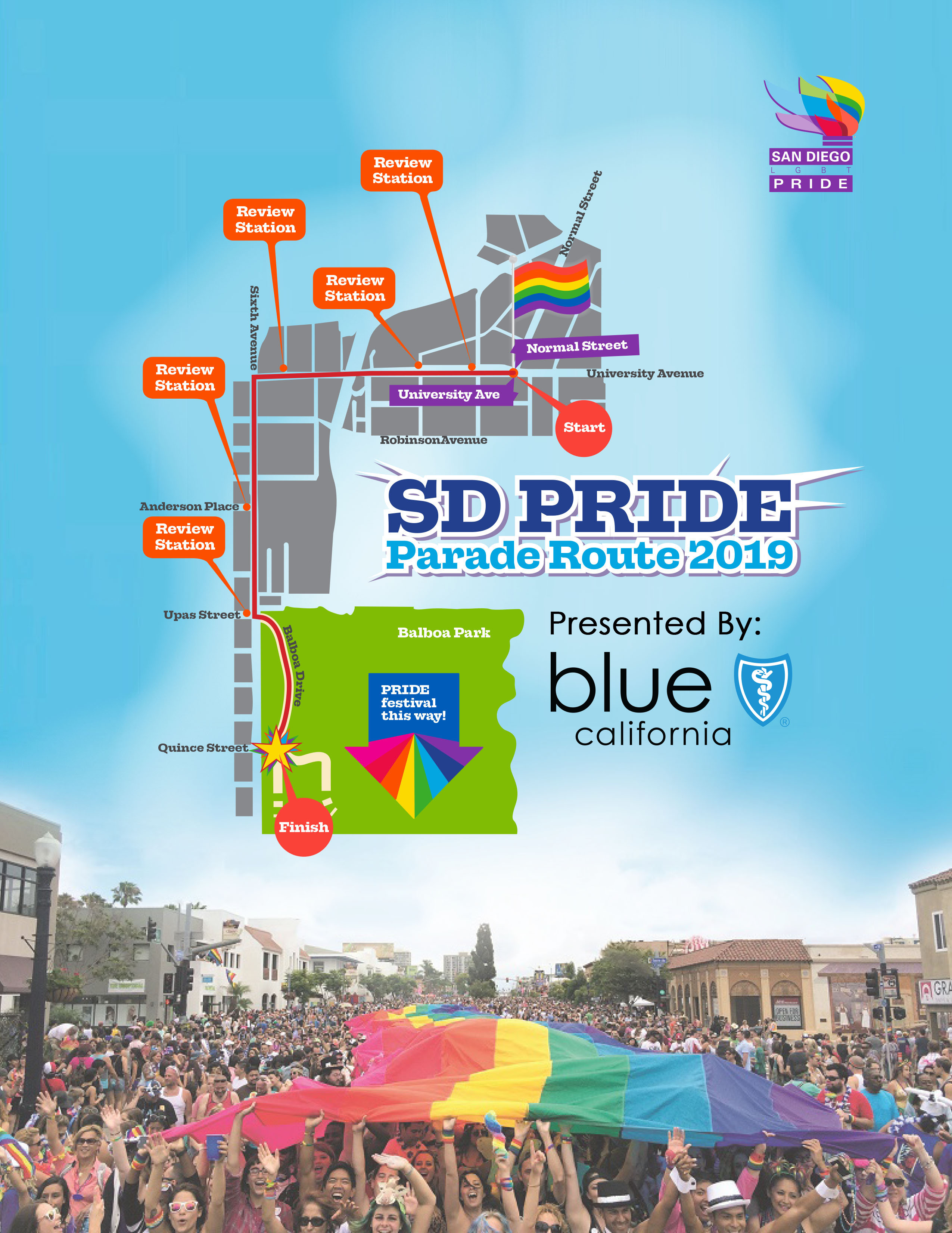 The Parade - San Diego LGBT Pride