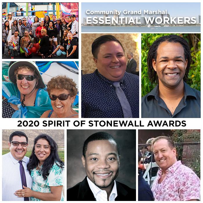 2020 Spirit of Stonewall Awardees