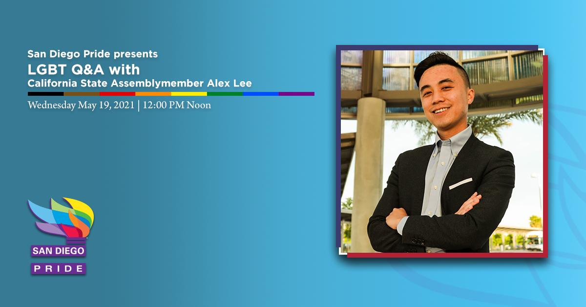 Alex Lee - Event Banner