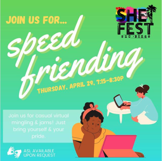 SheFest: Speed friending