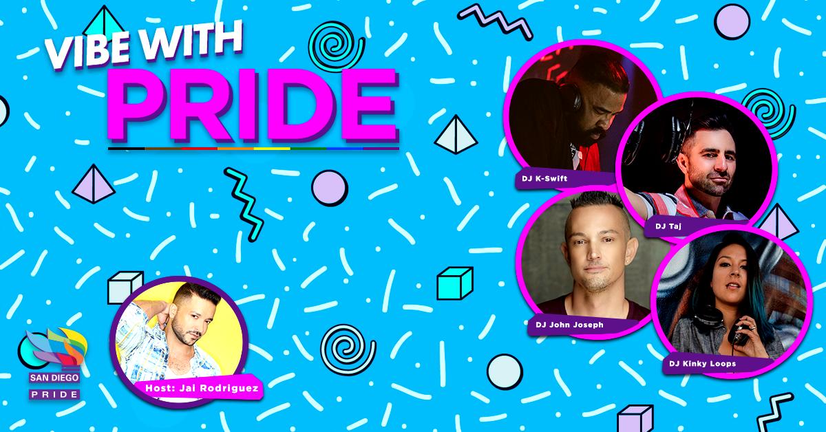 VwP - LGBTQ DJs - Event Banner