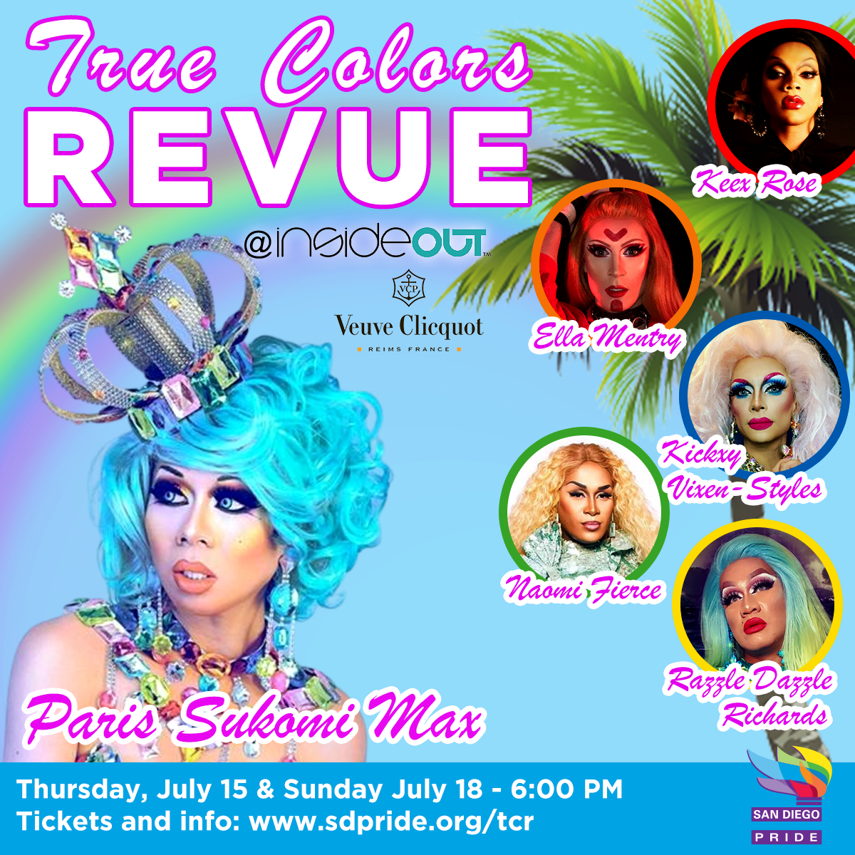 True Colors Revue Flyer